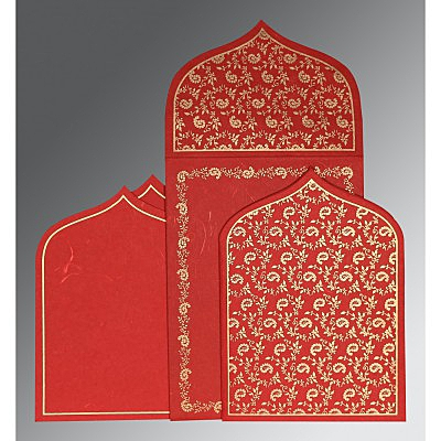 Islamic Wedding Invitations - I-8208O