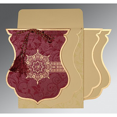 Islamic Wedding Invitations - I-8229K