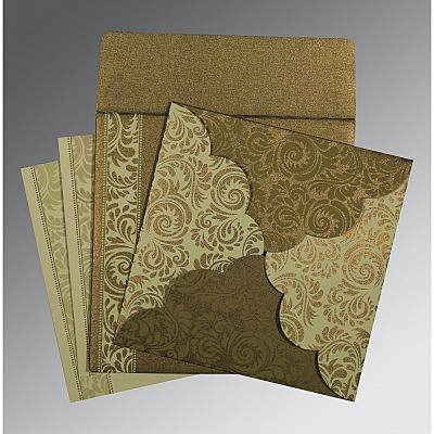 Islamic Wedding Invitations - I-8235A
