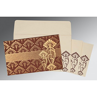 Islamic Wedding Invitations - I-8239C