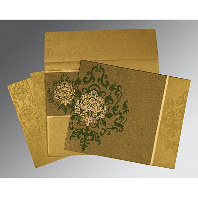 Islamic Wedding Invitations - I-8253C