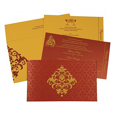 Islamic Wedding Invitations - I-8257D