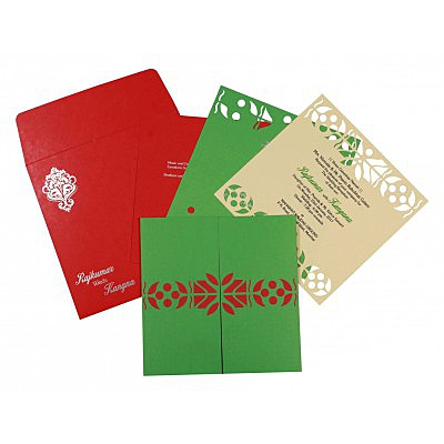 Islamic Wedding Invitations - I-8260B