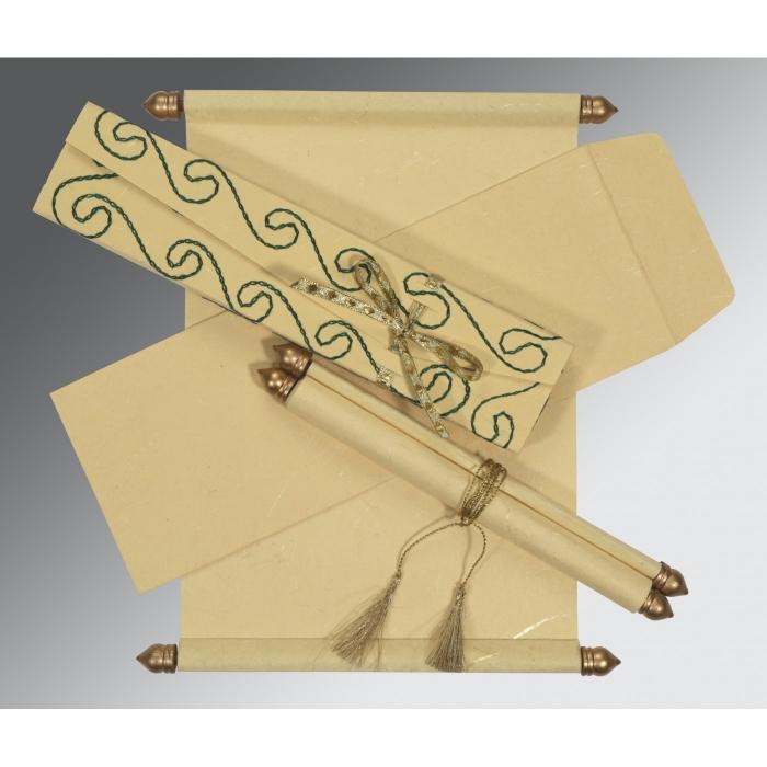 Scroll Wedding Cards - SC-5002F