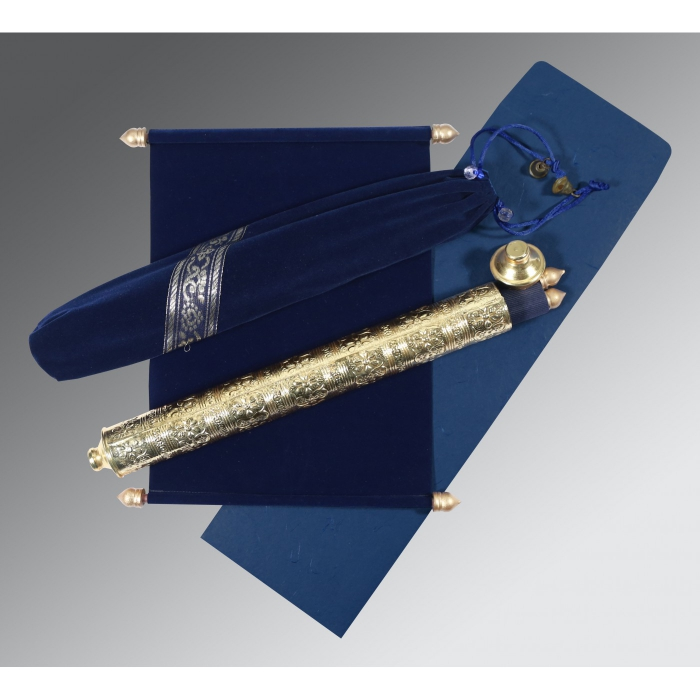 Scroll Wedding Cards - SC-5005F