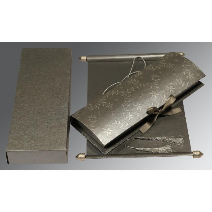 Scroll Wedding Cards - SC-5007F