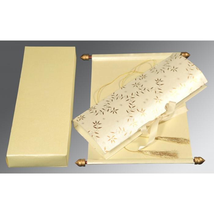 Scroll Wedding Cards - SC-5007J