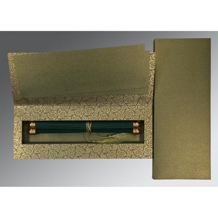 Scroll Wedding Cards - SC-5009E