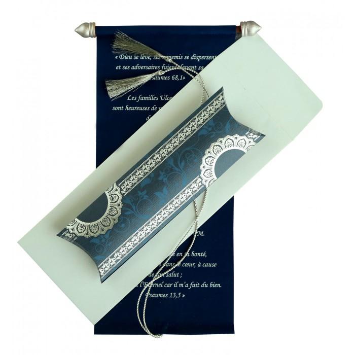 Scroll Wedding Cards - SC-5010A