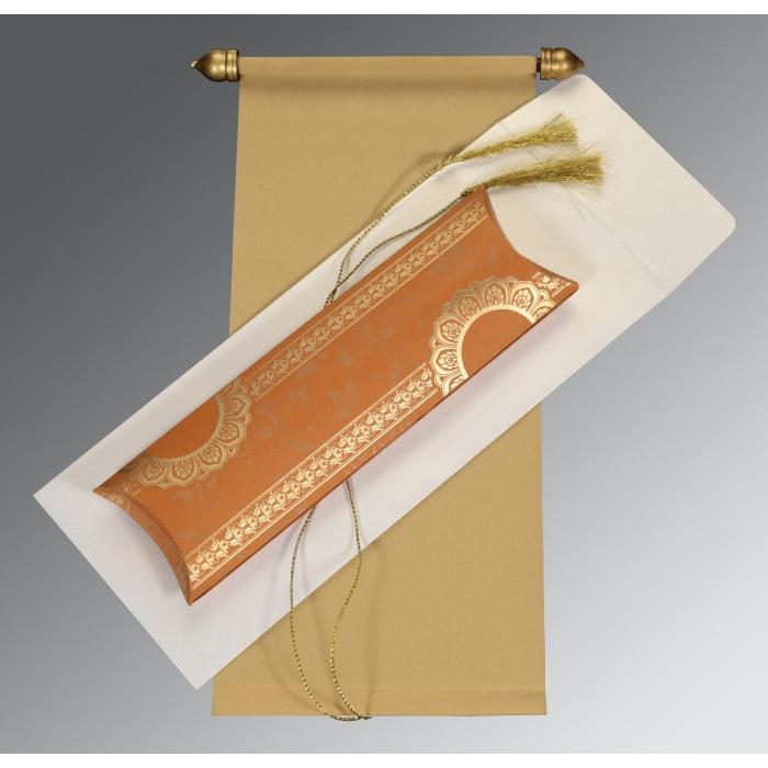 Scroll Wedding Cards - SC-5010E
