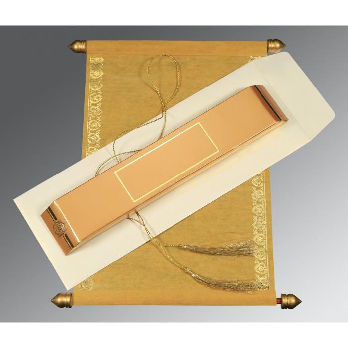 Scroll Wedding Cards - SC-5012B