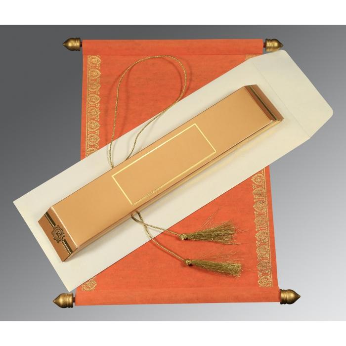 Scroll Wedding Cards - SC-5012C