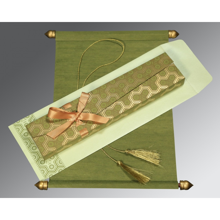 Scroll Wedding Cards - SC-5014A