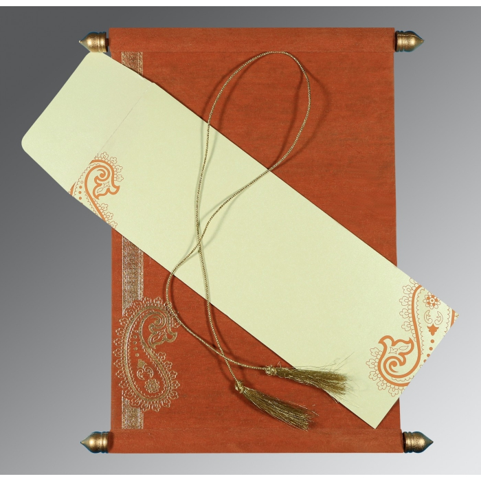 Scroll Wedding Cards - SC-5015K