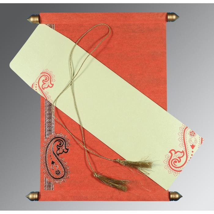 Scroll Wedding Cards - SC-5015L
