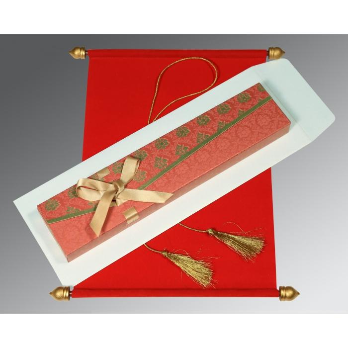 Scroll Wedding Cards - SC-5016A
