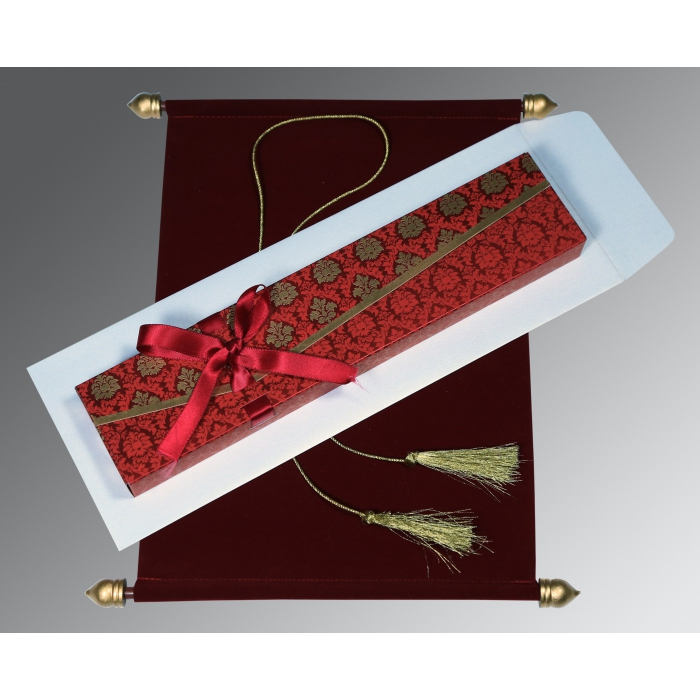 Scroll Wedding Cards - SC-5016F
