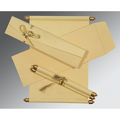Scroll Wedding Cards - SC-5001B