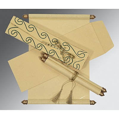 Scroll Wedding Cards - SC-5002F