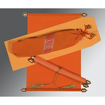 Scroll Wedding Cards - SC-5004I