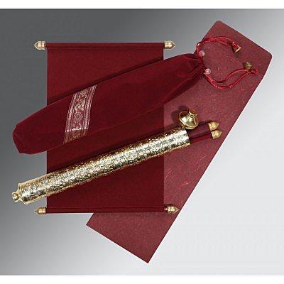Scroll Wedding Cards - SC-5005E