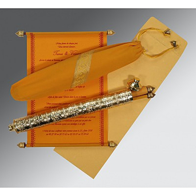 Scroll Wedding Cards - SC-5005H