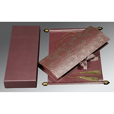 Scroll Wedding Cards - SC-5007C