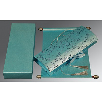 Scroll Wedding Cards - SC-5007D