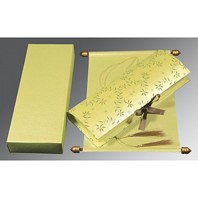 Scroll Wedding Cards - SC-5007I
