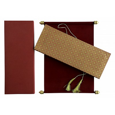 Scroll Wedding Cards - SC-5008D