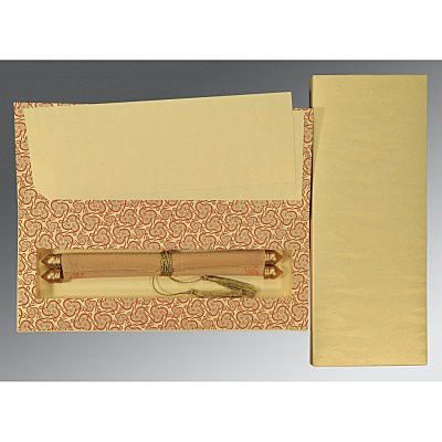 Scroll Wedding Cards - SC-5009D