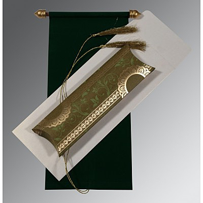 Scroll Wedding Cards - SC-5010F