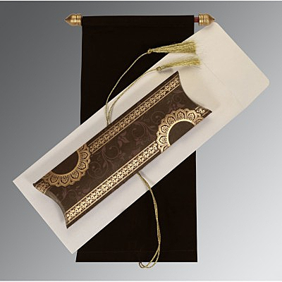 Scroll Wedding Cards - SC-5010G