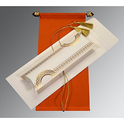 Scroll Wedding Cards - SC-5010I