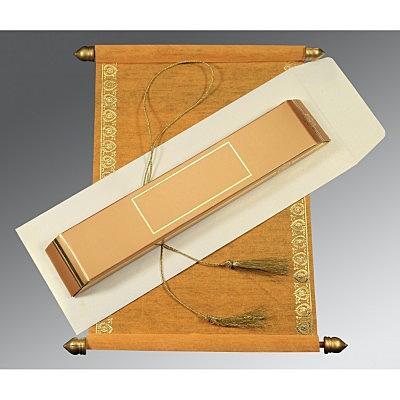Scroll Wedding Cards - SC-5012F
