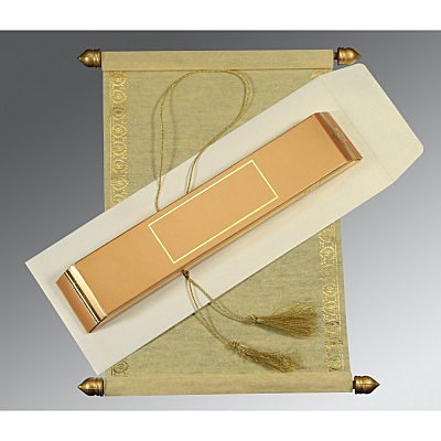 Scroll Wedding Cards - SC-5012G
