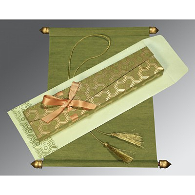 Scroll Wedding Cards - SC-5014A