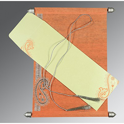 Scroll Wedding Cards - SC-5015B