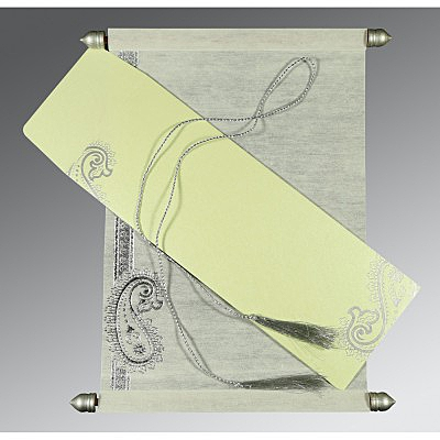 Scroll Wedding Cards - SC-5015G