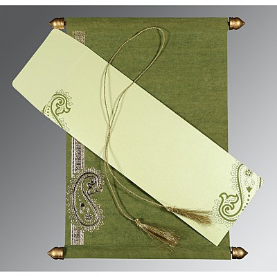 Scroll Wedding Cards - SC-5015I