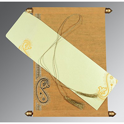 Scroll Wedding Cards - SC-5015M