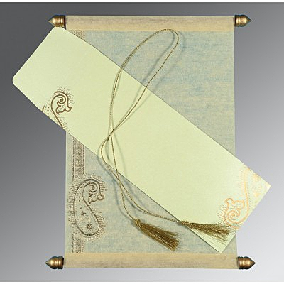 Scroll Wedding Cards - SC-5015N