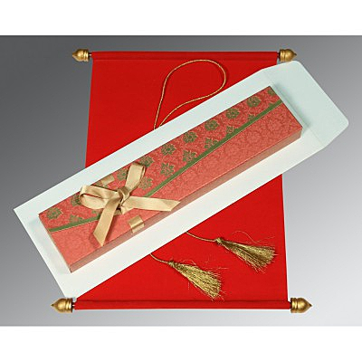 Scroll Wedding Cards - SC-5016A