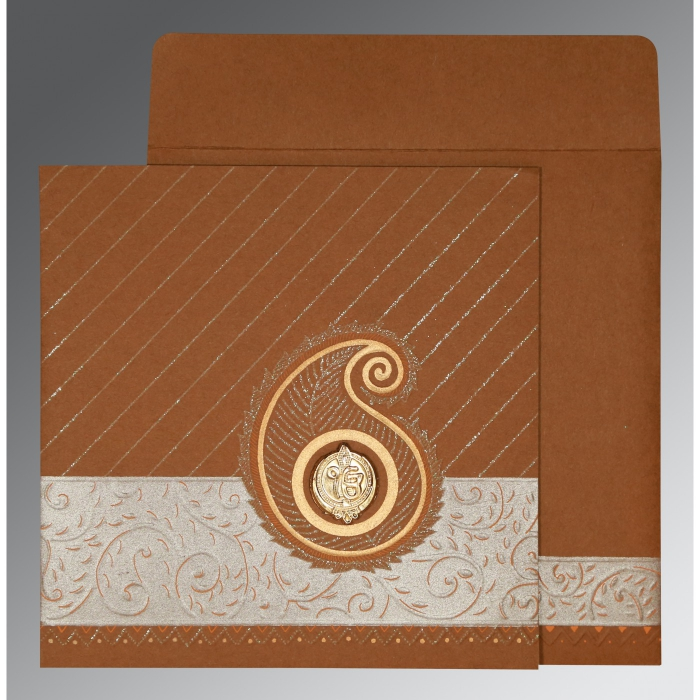 Sikh Wedding Invitation - S-1178