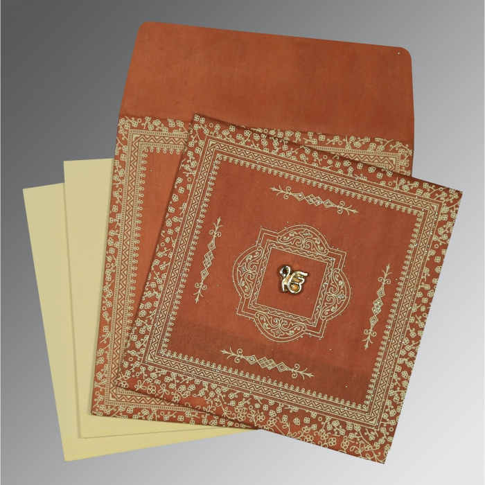 Sikh Wedding Invitation - S-8205C