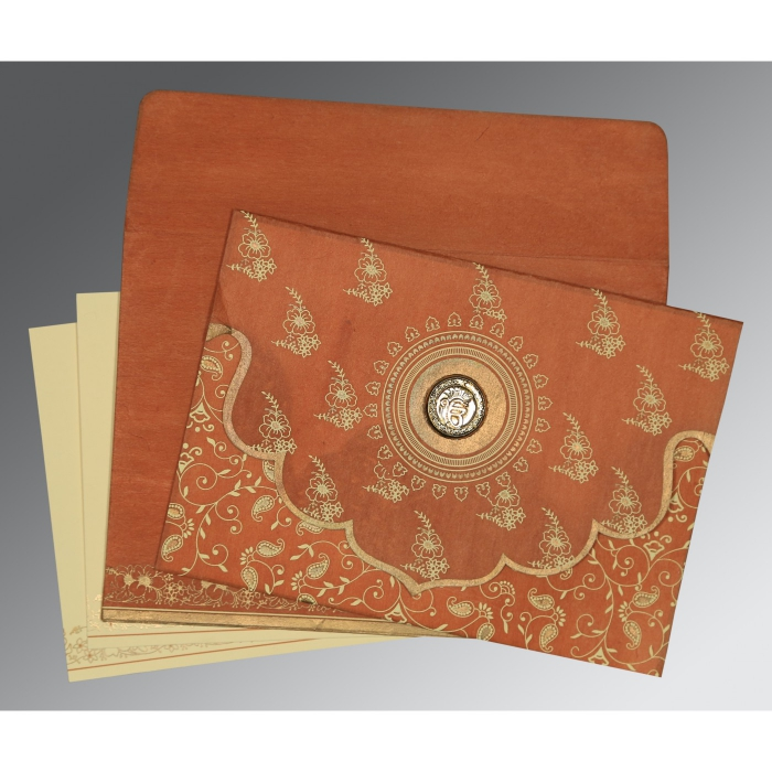 Sikh Wedding Invitation - S-8207N