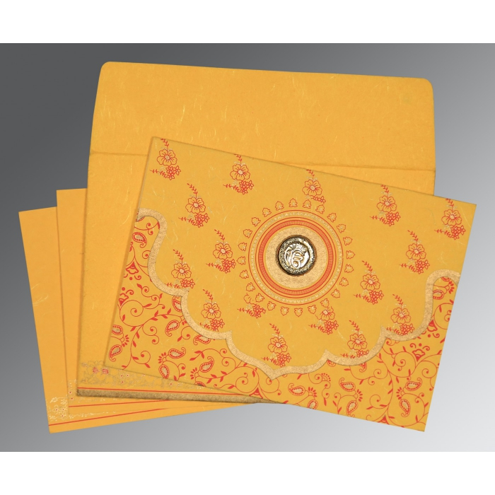 Sikh Wedding Invitation - S-8207O