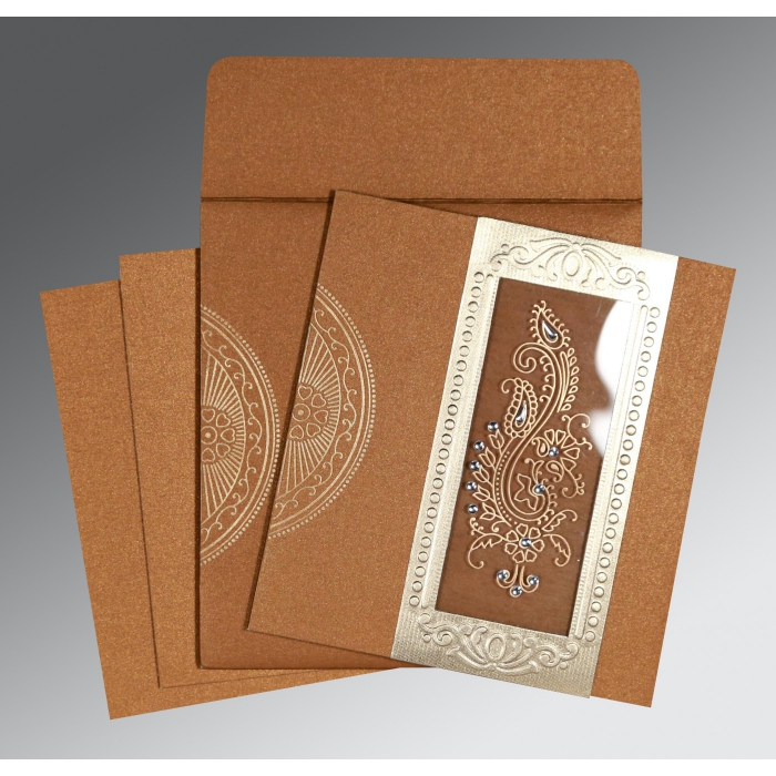 Rustic Wedding Invitations - RU-8230Q