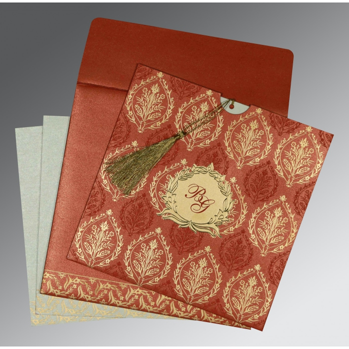 Sikh Wedding Invitation - S-8249A