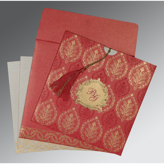Sikh Wedding Invitation - S-8249K